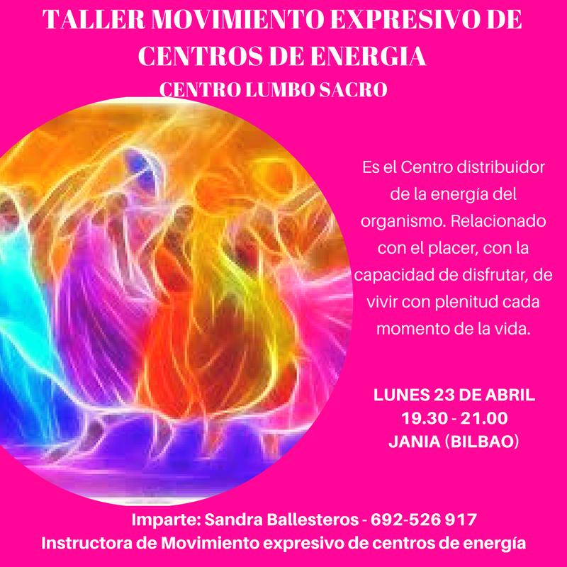 Clase de MOVIMIENTO Centro LUMBO SACRO, Lunes 23 de Abril