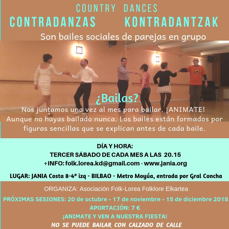 Contradanzas/Kontradantzak 15 de Diciembre