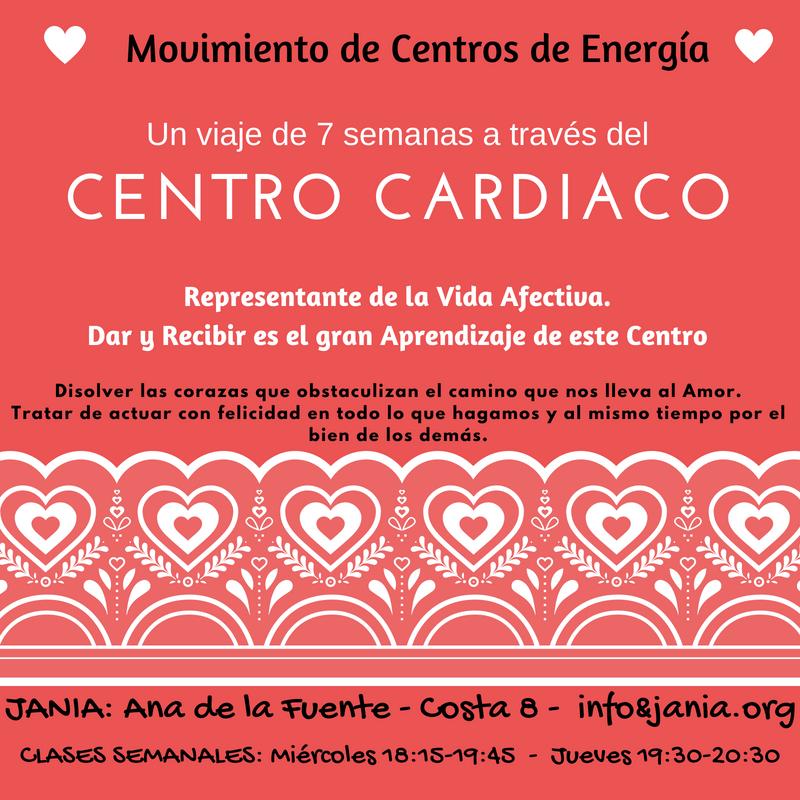 Centros Cardíaco y Coronario: Clase de Movimiento MIÉRCOLES 27 de Junio