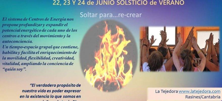 22-24 de Junio Noche de San Juan: Intensivo de Movimiento de Centros de Energía