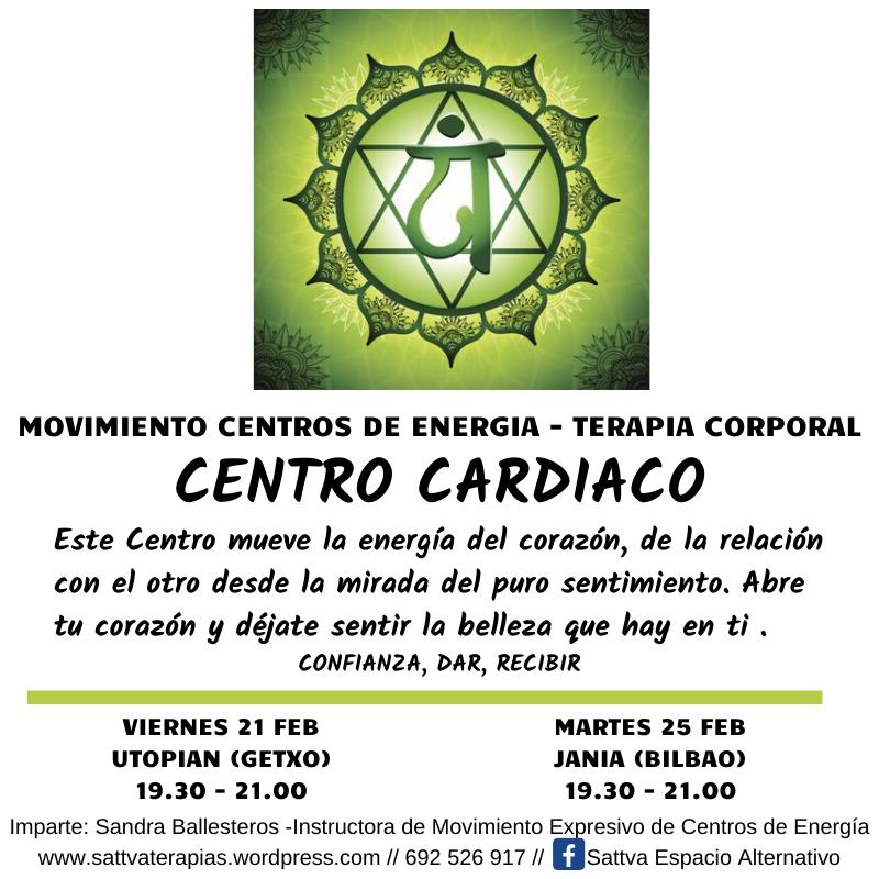 Movimiento: Centro FRONTAL – 6º Chakra – Viernes 27 de Marzo