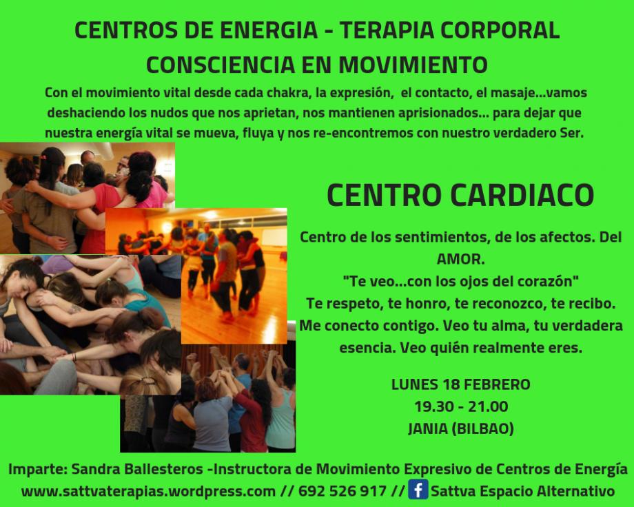 Centro Laríngeo: Clase de Movimiento Expresivo Lunes 4 de Marzo