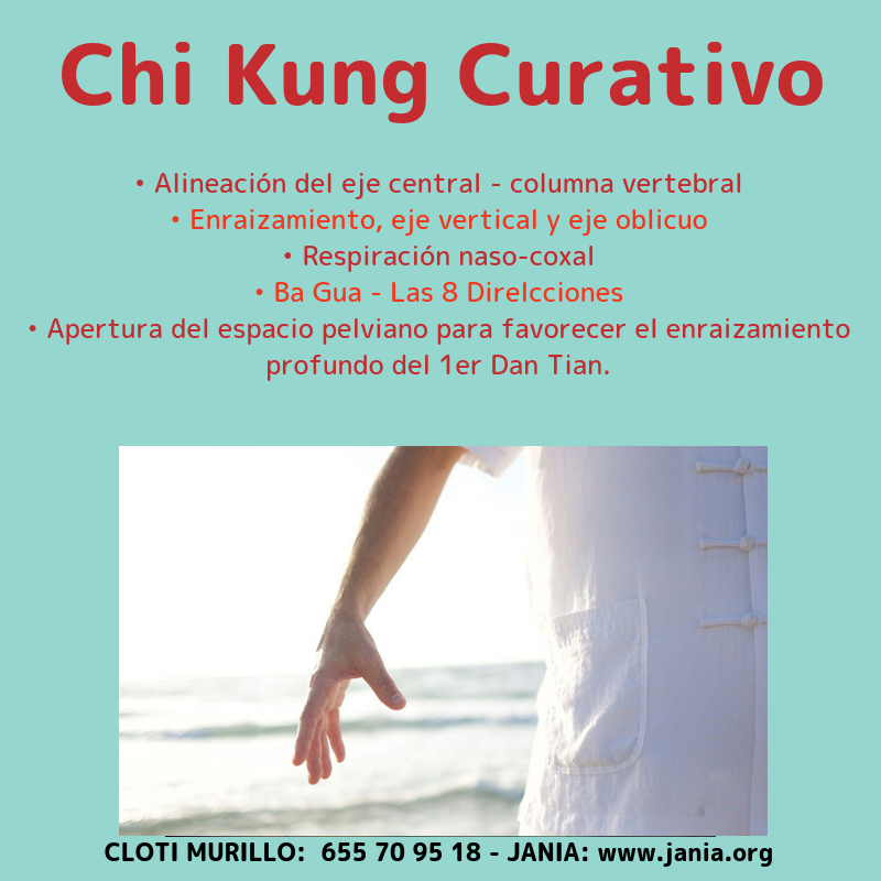 CHI KUNG Clases semanales