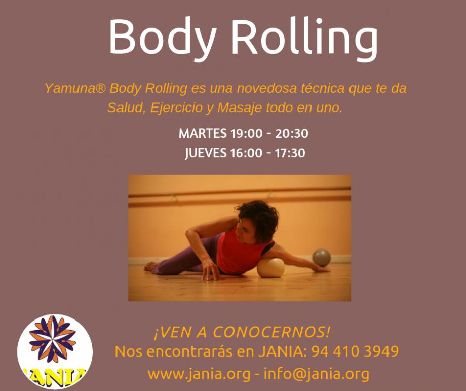 Body Rolling – Clases Martes y Jueves