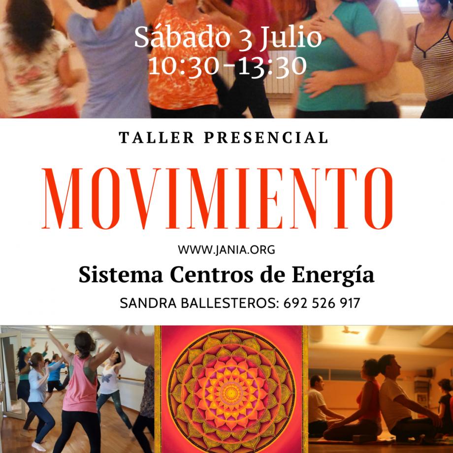Taller de Movimiento Sábado 3 de Julio