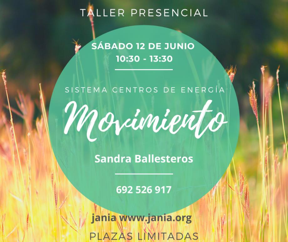 Taller de Movimiento Sábado 12 Junio