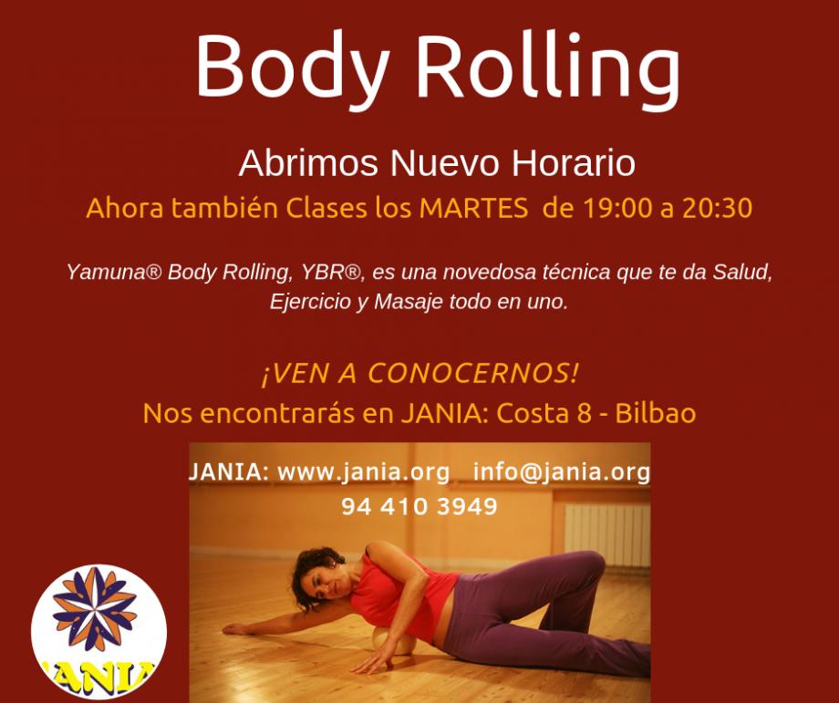Body Rolling –  Martes y Jueves