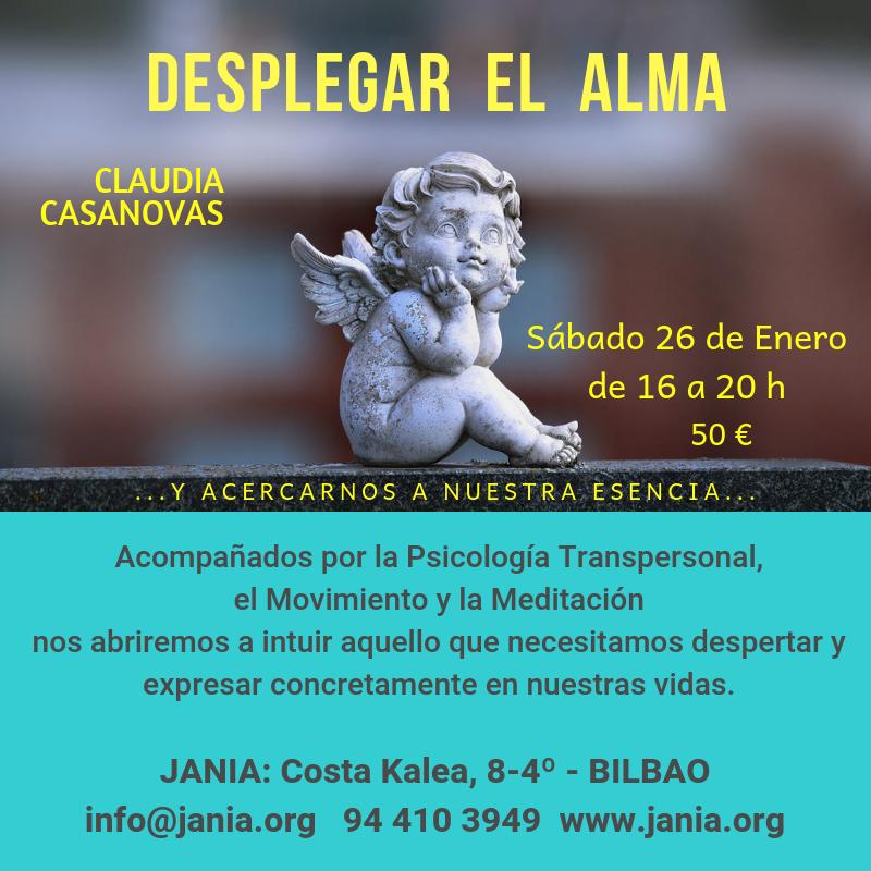Desplegar el ALMA: Taller con Claudia Casanovas