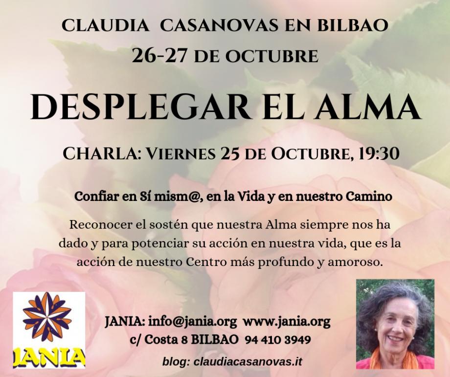 Desplegar el Alma con Claudia Casanovas