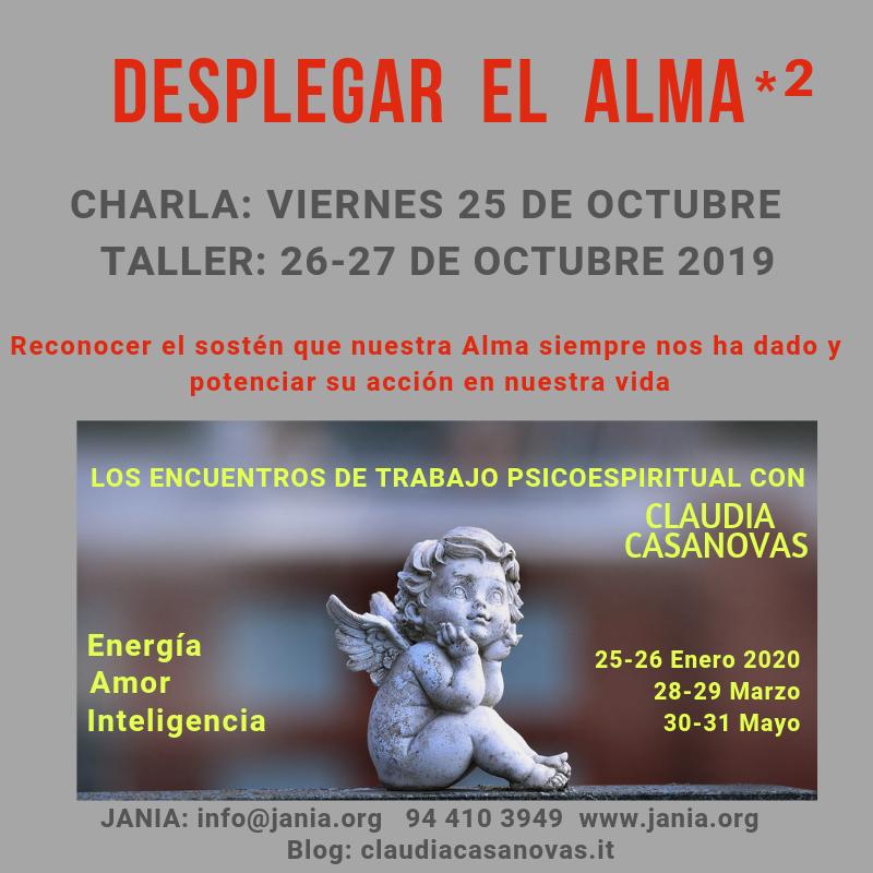 Encuentros de Trabajo Psicoespiritual con Claudia Casanovas – Curso 2019-20