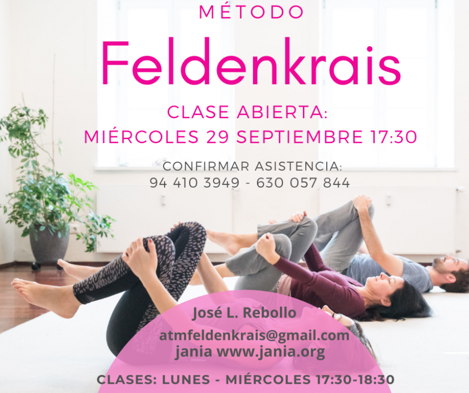 Método Feldenkrais – Clase Abierta