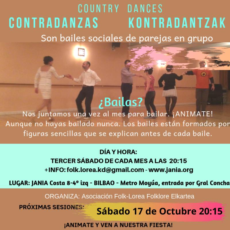 CONTRADANZAS – KONTRADANTZA – COUNTRY DANCES