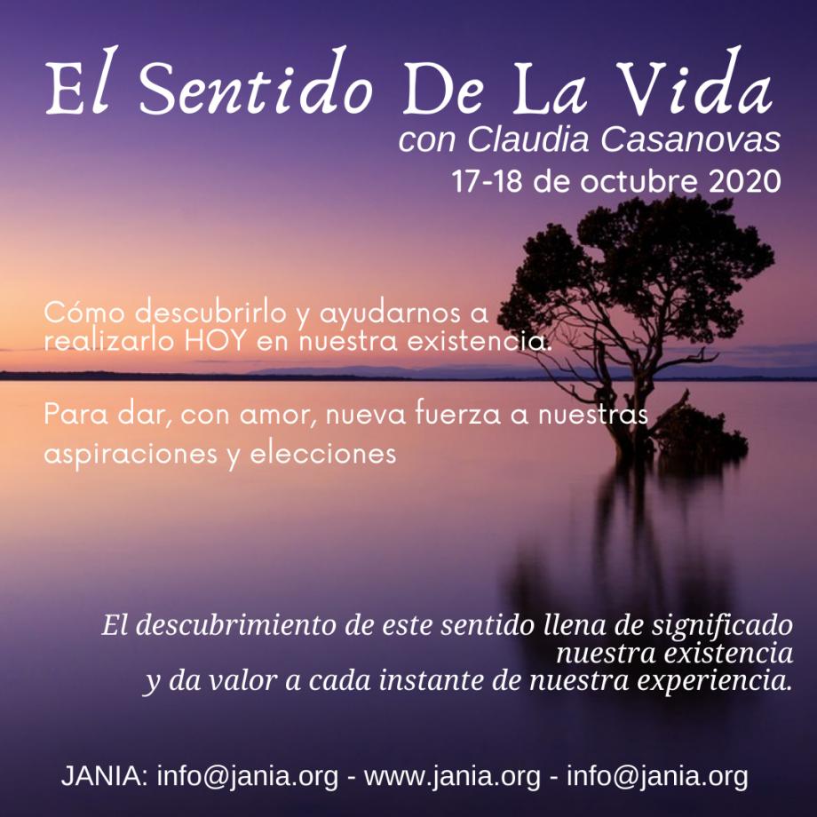 El Sentido de la Vida – Encuentro con Claudia Casanovas