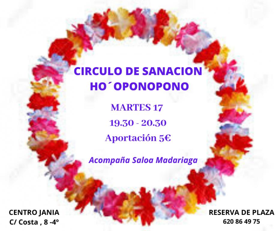 Círculos de Sanación HO'OPONOPONO