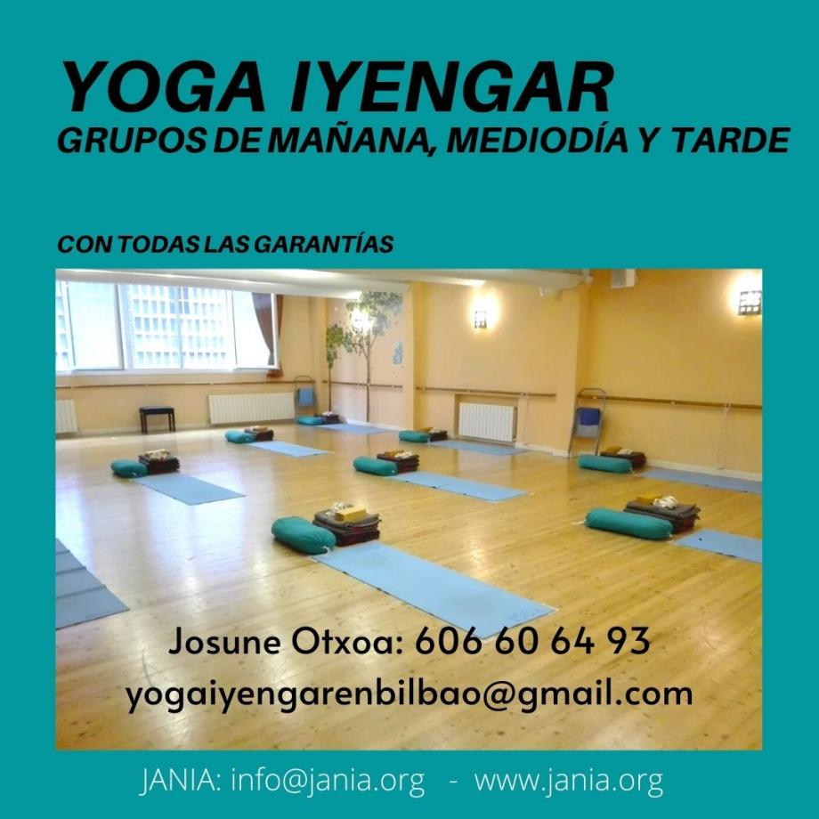 Yoga Iyengar – Curso 2021-22