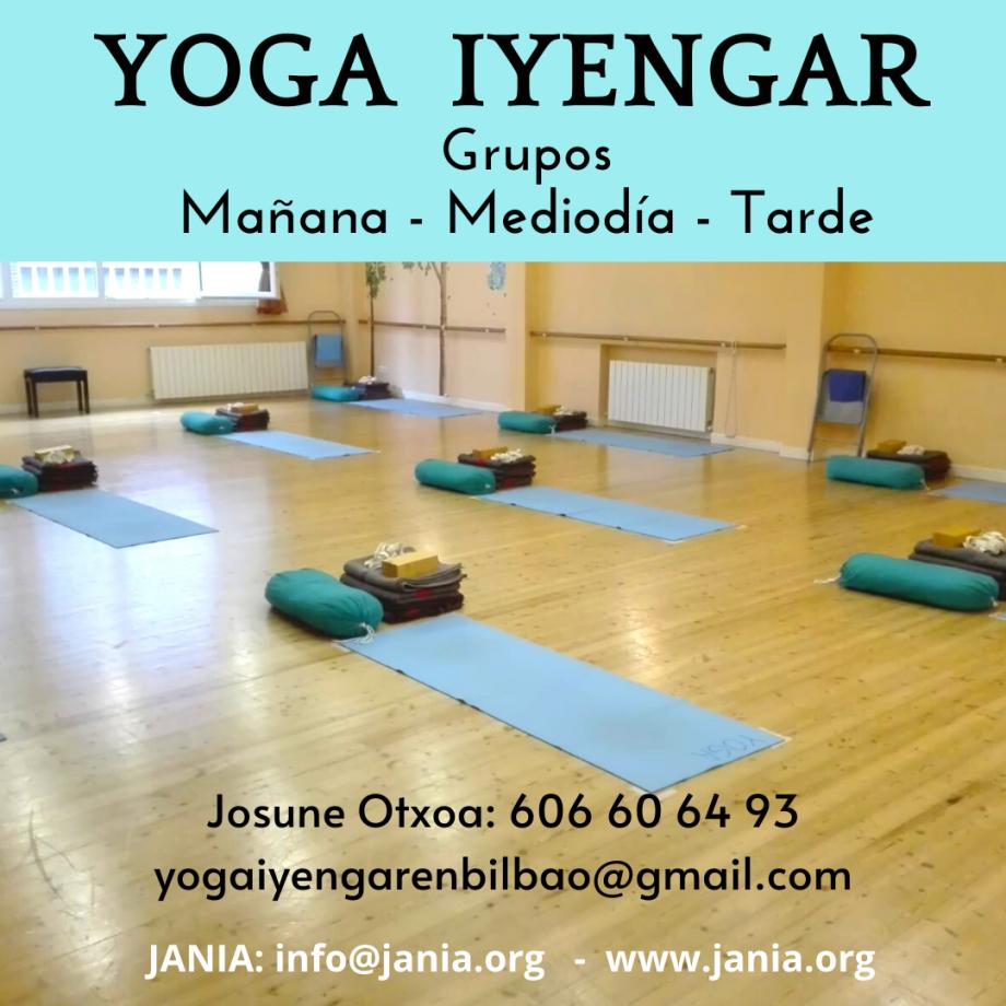 Yoga Iyengar – Grupos Mañana y Tarde